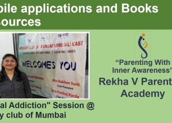 6-Mobile application and Books Resources_Digital Addiction_RVA_Rotary club of Mumbai_720p