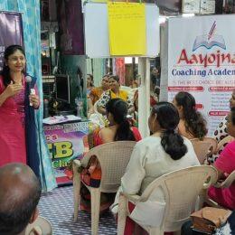 Parenting session on Digital Addiction at Aayojana Coaching Academy.